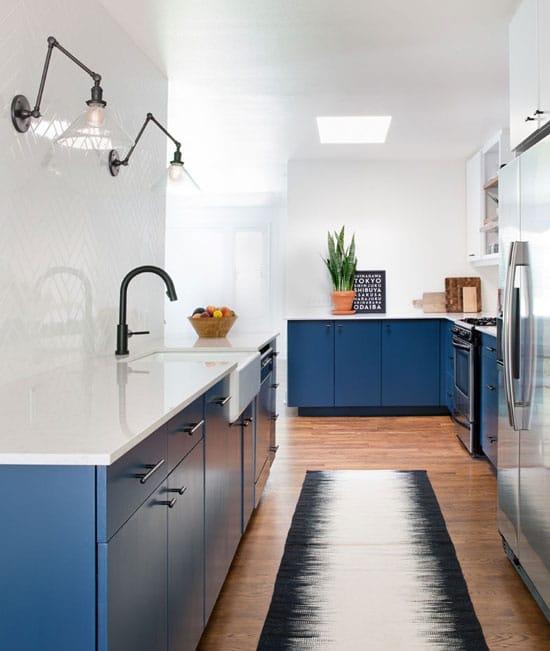 cuisine bleue roi
