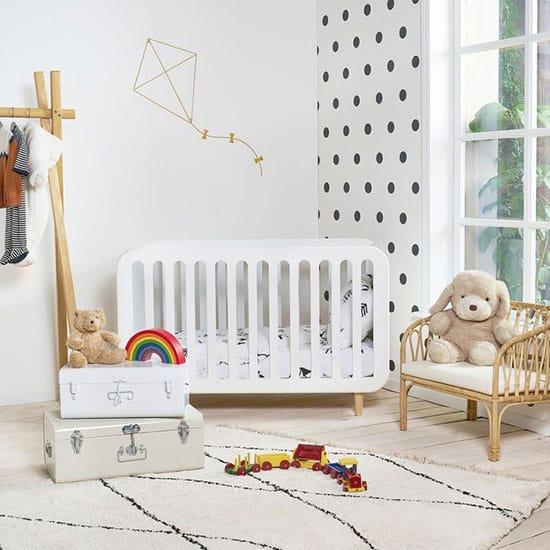 Lit bébé style scandinave