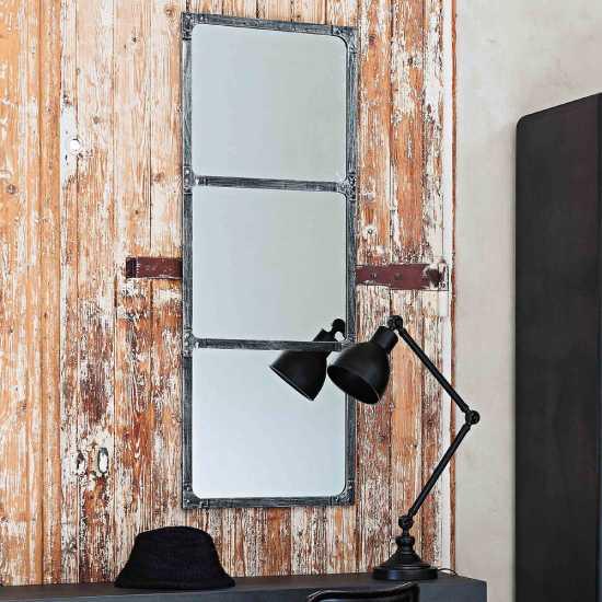 Miroir rectangulaire horizontal