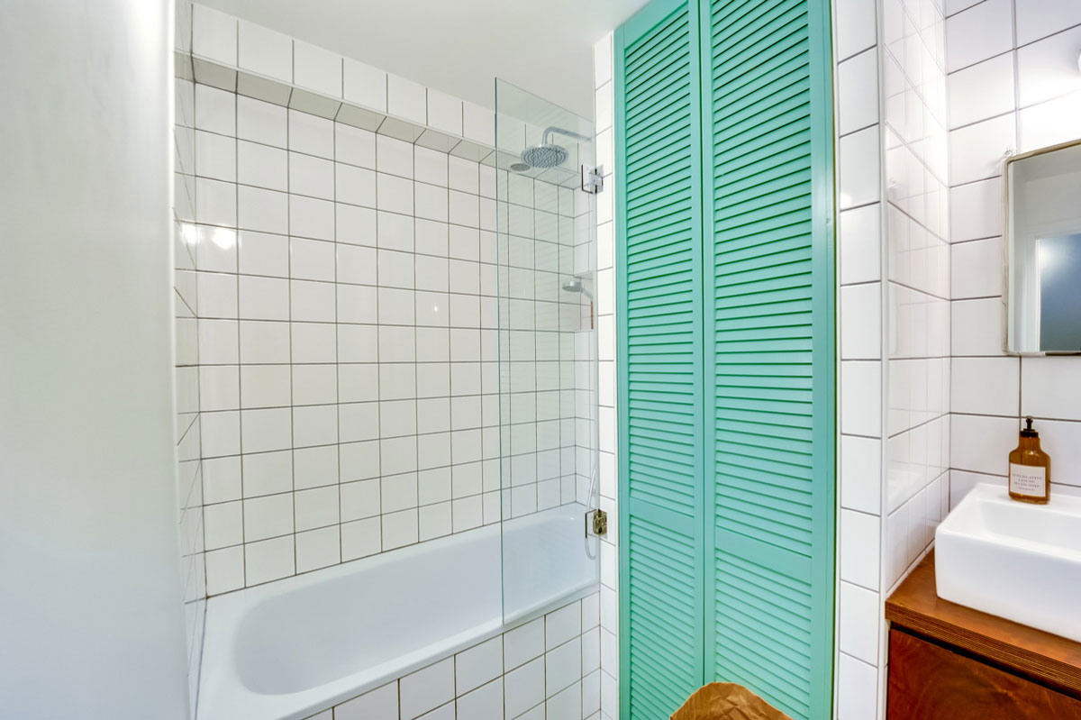 salle de bains vert d eau