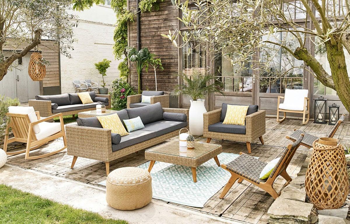 quel salon de jardin ext rieur choisir pour passer l 39 t. Black Bedroom Furniture Sets. Home Design Ideas
