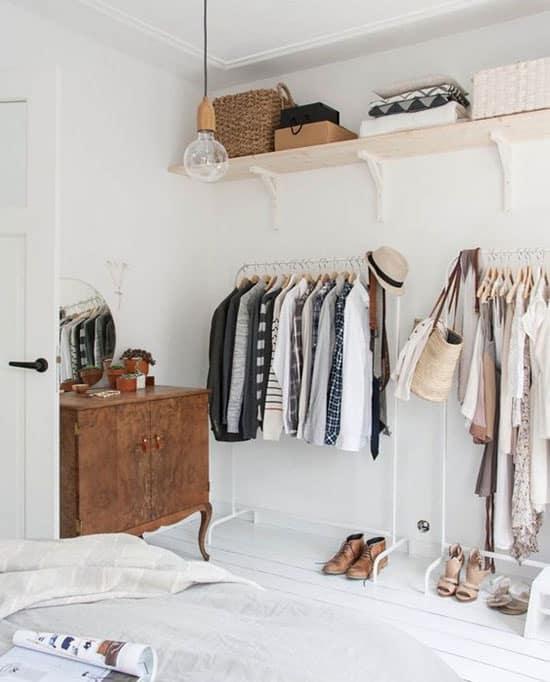 rangement des vêtements