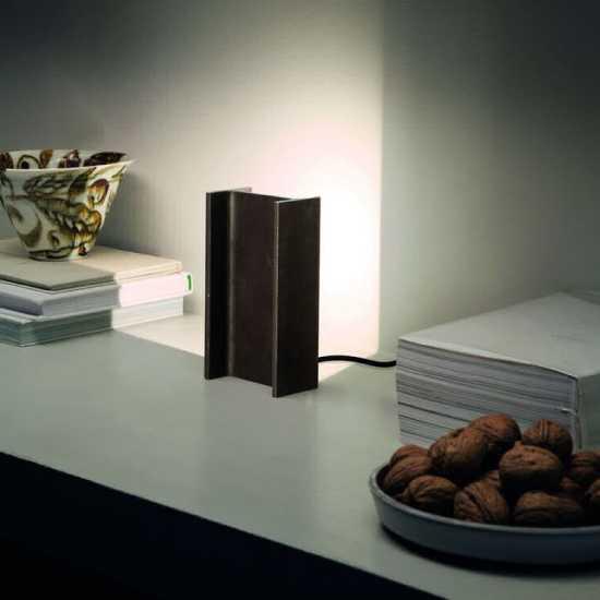 Petite lampe de chevet industrielle