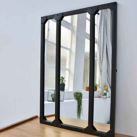 Miroir verrière avec rivets