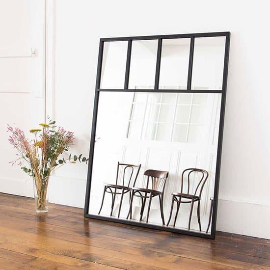 Miroir verrière compartimentée