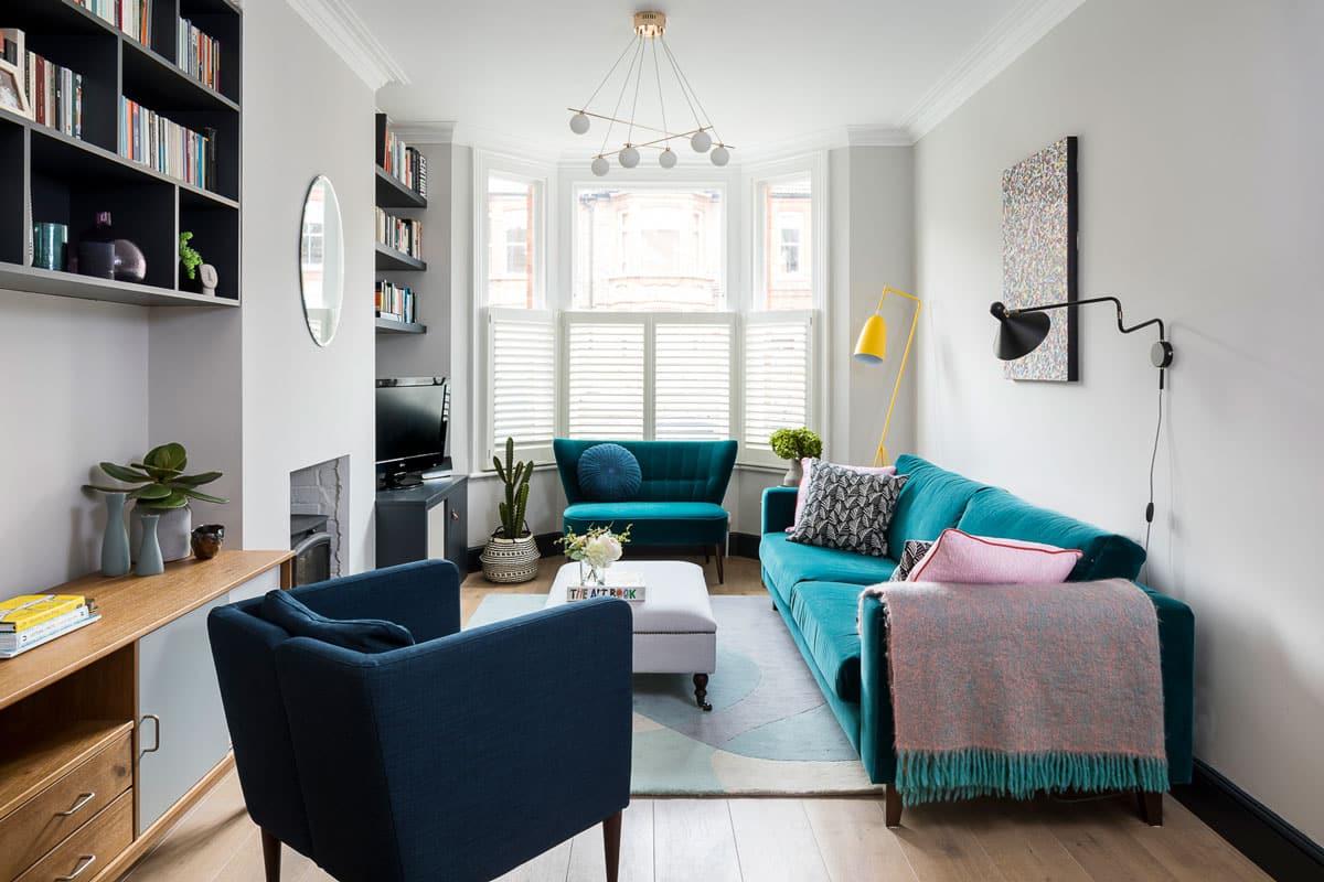 9 conseils pour aménager un salon tout en longueur