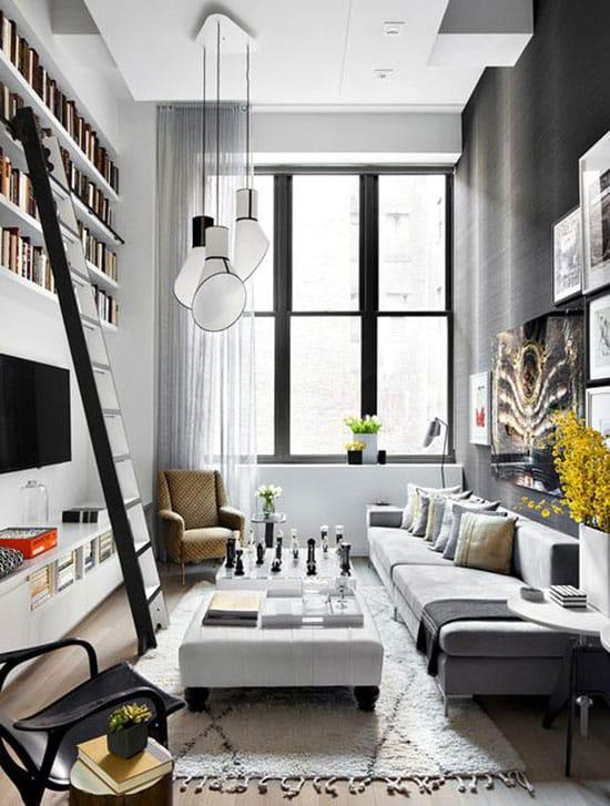 idée d'aménagement d'un petit salon séjour