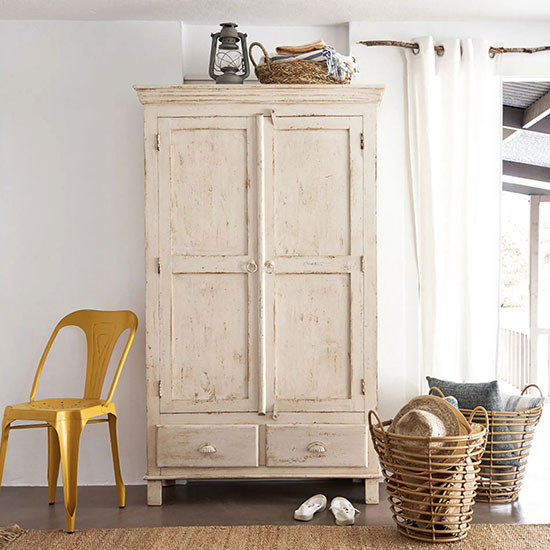 grande armoire blanche