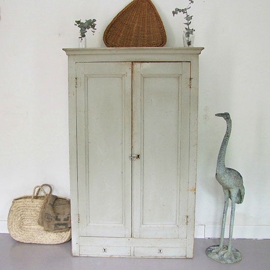 armoire blanche d'occasion