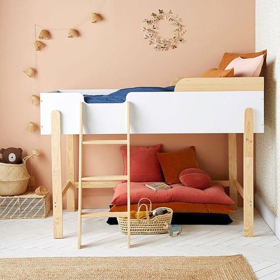 lit en bois pour enfant