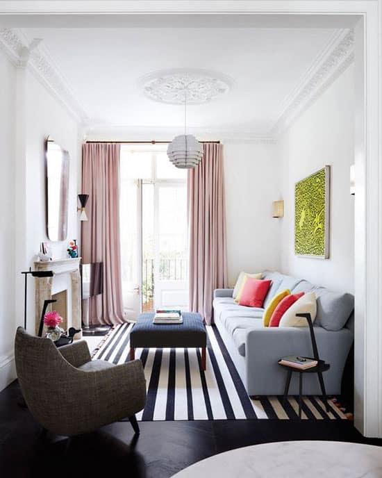 Exemple de canapé à choisir pour un petit salon