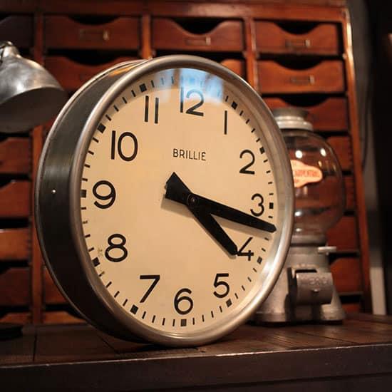 horloge industrielle d'occasion