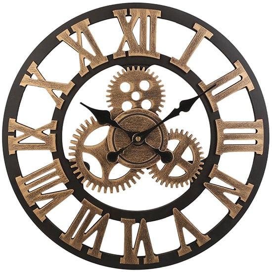 horloge industrielle engrenage