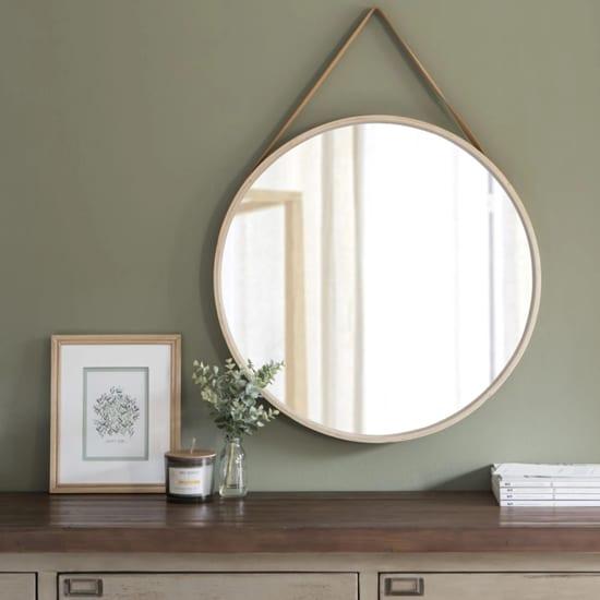 Miroir rond maisons du monde