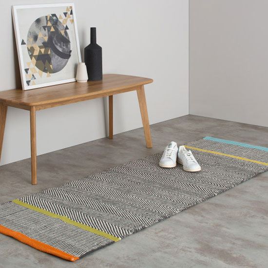 Tapis de couloir design