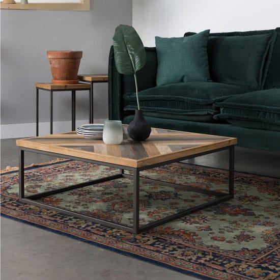 Table Basse Industrielle 8 Modeles Pour Un Salon Aux Airs