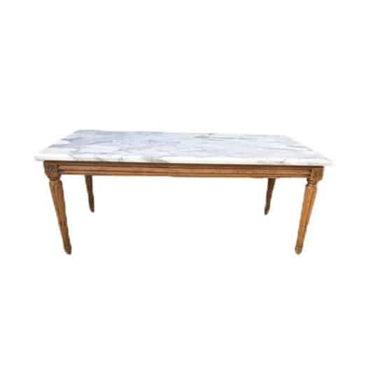 Table basse en marbre d'occasion