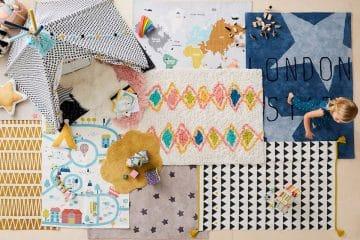 tapis chambre d'enfant