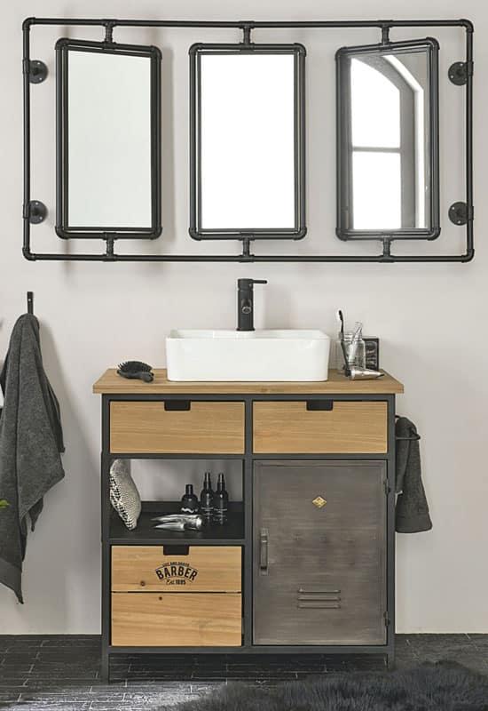 La salle de bain : une pièce idéale pour adopter le style industriel