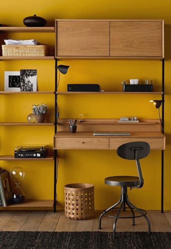 Avec du jaune, le style industriel pétille !