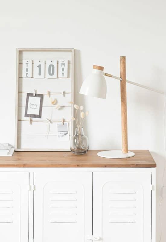 Illuminez l'ambiance atelier de votre déco avec du blanc