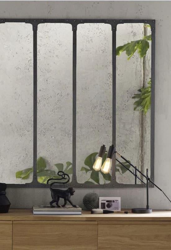 La déco murale pour souligner l'esprit industriel d'un intérieur