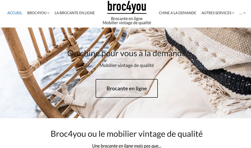 broc4you brocante en ligne