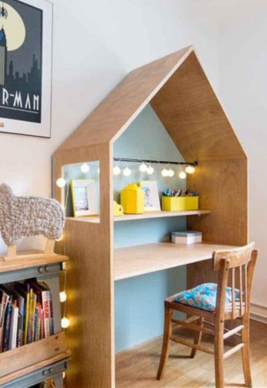 Bureau cabane en bois