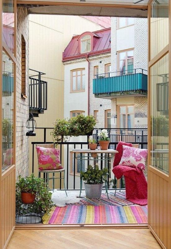 Balcon en appartement