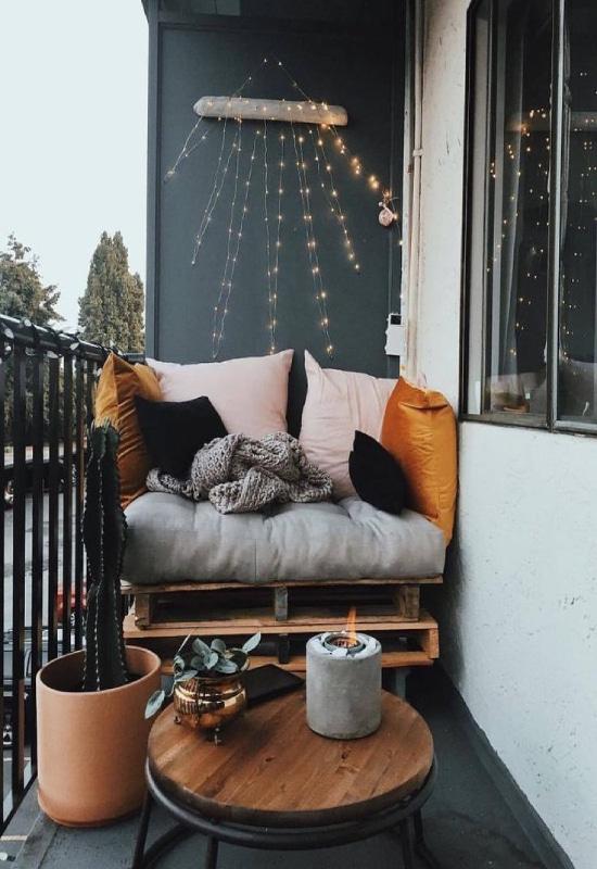Balcon automne