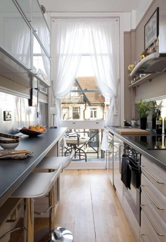 Balcon sur cuisine