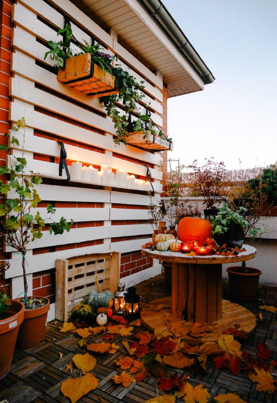 Balcon halloween