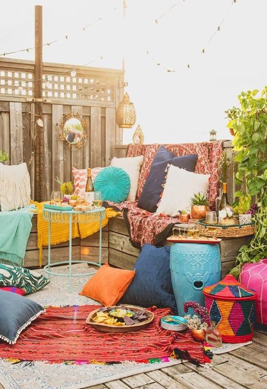 Balcon marocain