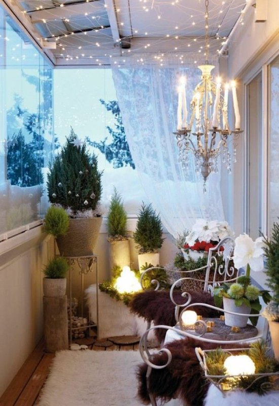 Balcon Noël