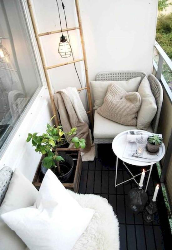 Aménagement d'un petit balcon
