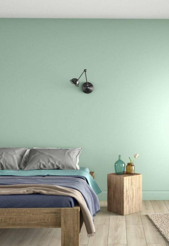 chambre vert celadon