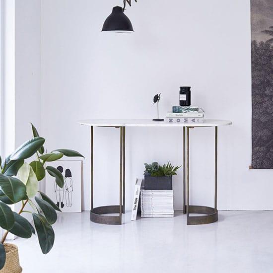 table console industrielle