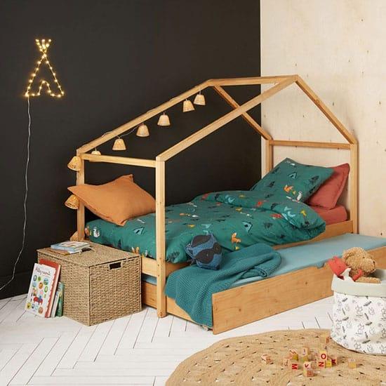 lit cabane 2 places