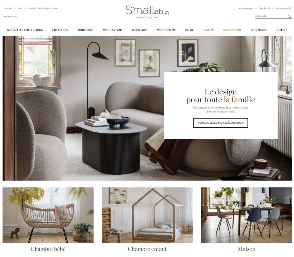 concept store smallable