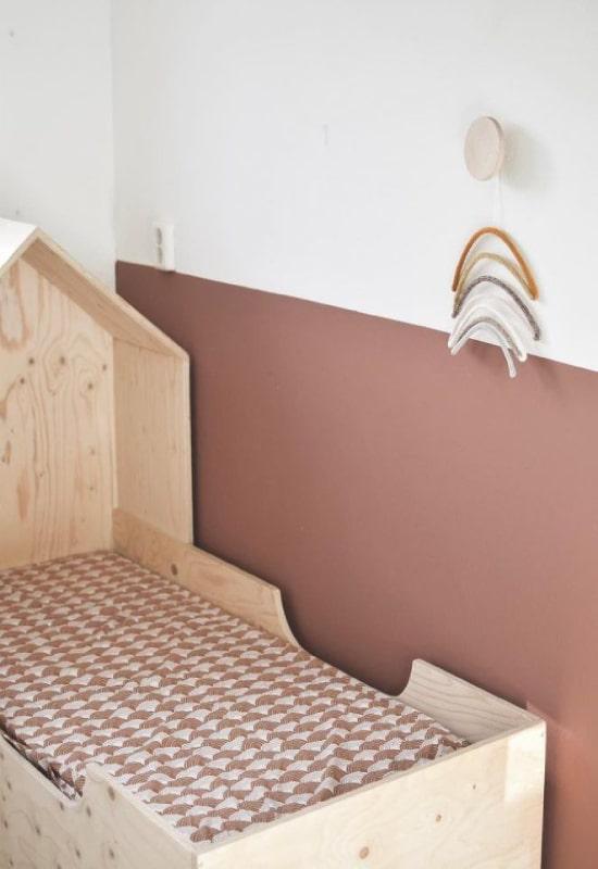 chambre bébé terracotta