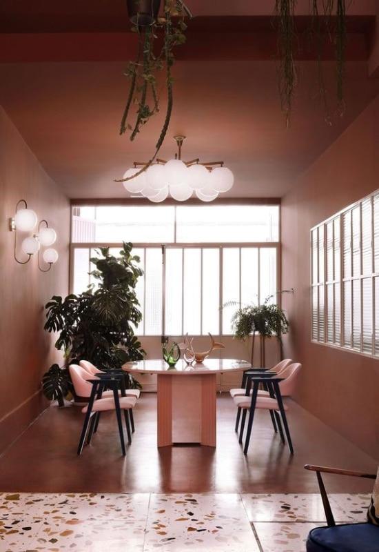 salle à manger vintage