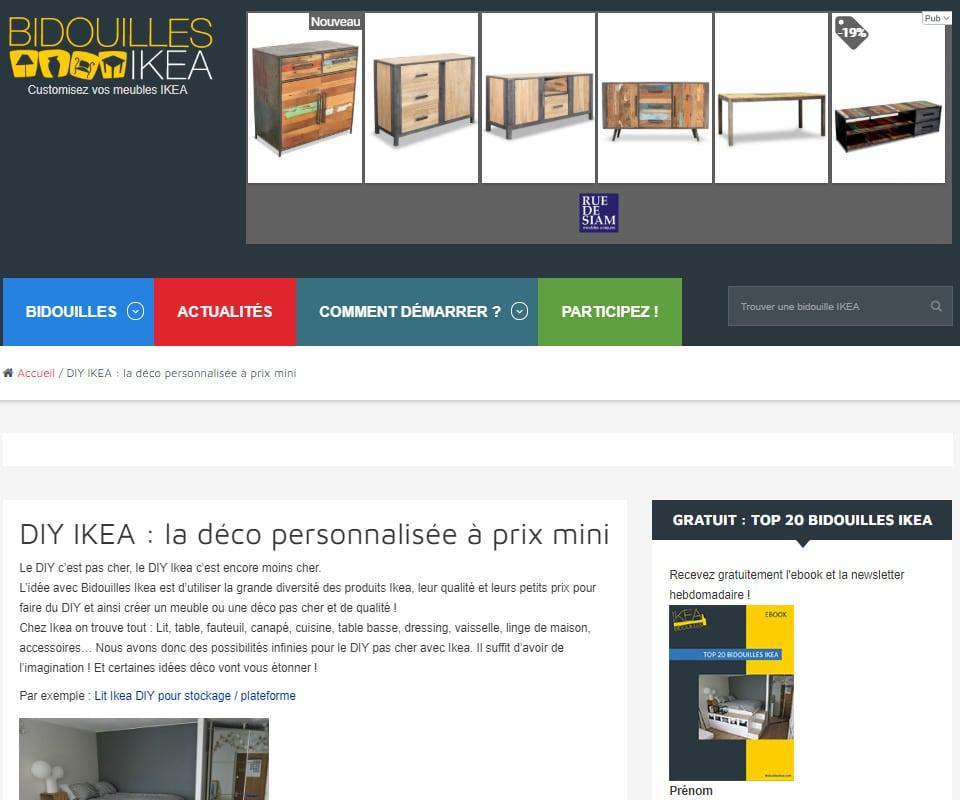 Bidouilles IKEA blog de déco DIY