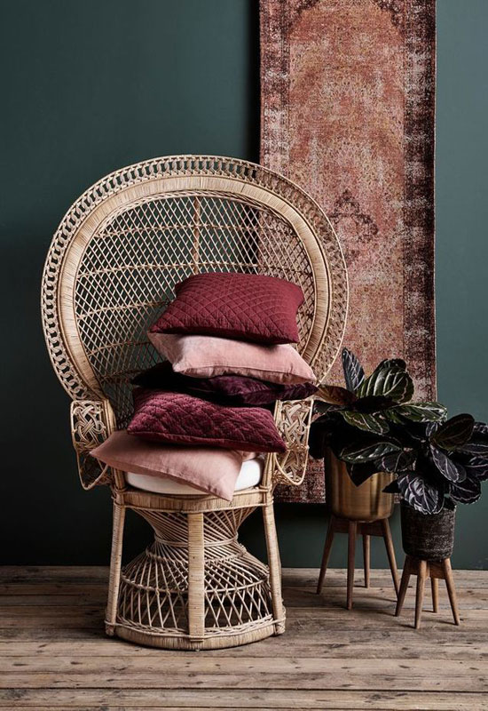 textiles terracotta