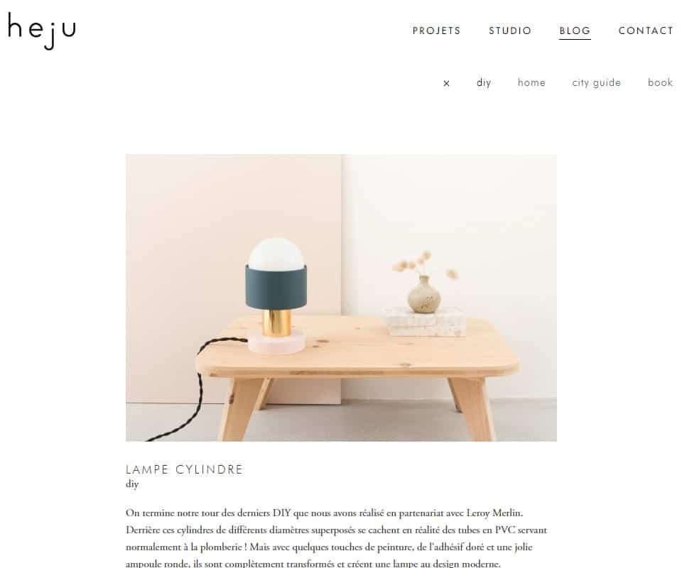 Heju blog de déco DIY
