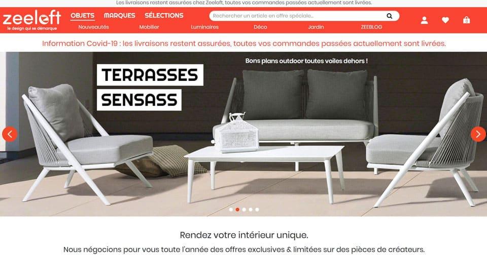 mobilier design d'occasion zeeloft