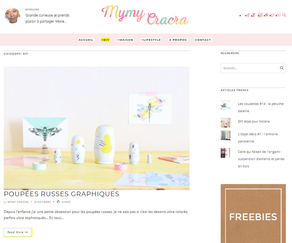 Mymy Cracra blog de déco DIY
