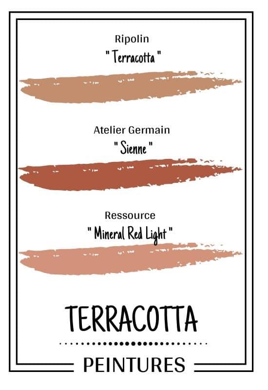 peinture terracotta