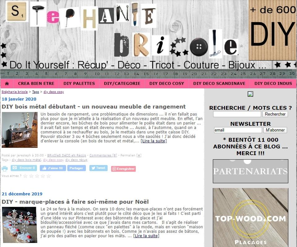 Blog DIY Stéphanie bricole