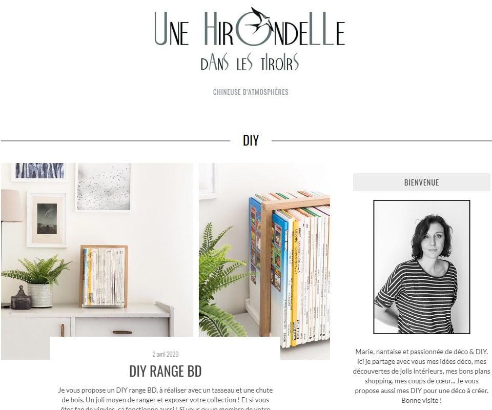 Une hirondelle dans les tiroirs blog de déco DIY