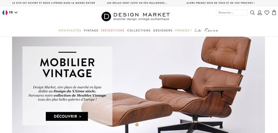 mobilier design d'occasion design market